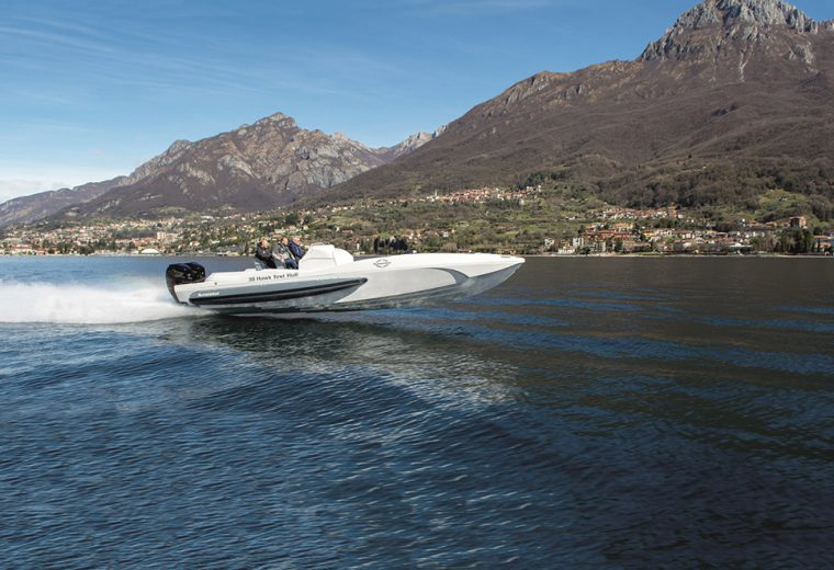 Sunseeker's New Hawk 38 Flies Through First Sea Trial