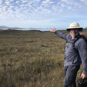 Naturalist and Guide Peter 'WikiPete' Marmion