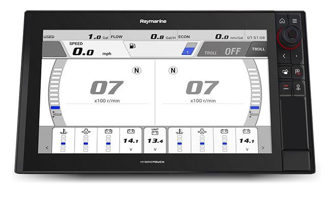 Raymarine Axiom Now Supports Yamaha Command Link Integration