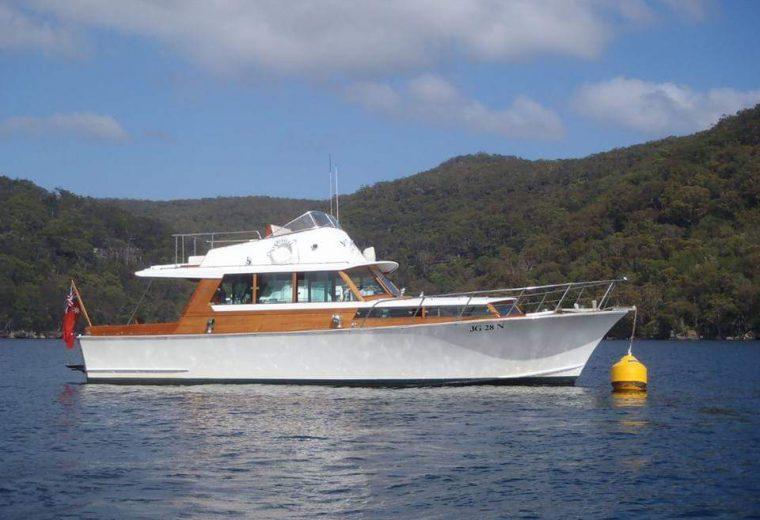 Halvorsen 40 ft cruiser. Kirribilli