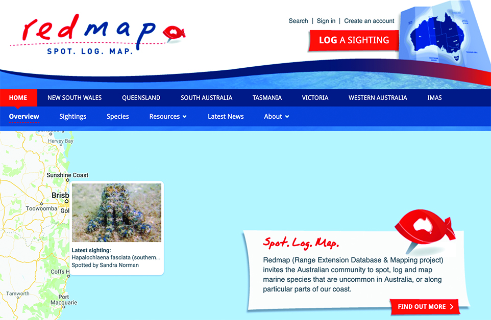 James Cook University Redmap