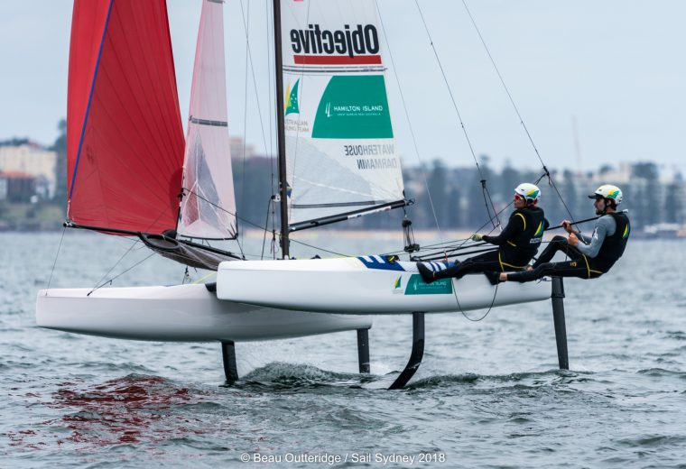 Australian Sailing names Olympic Test Event team