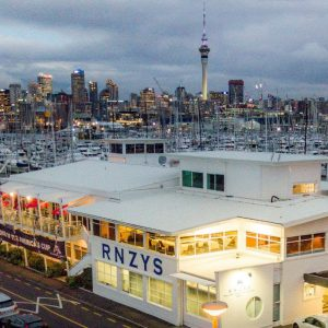 Royal New Zealand Yacht Squadron clubhouse, Auckland NZ