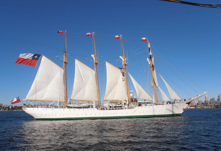 Greet the Chilean Navy Tall Ship Esmeralda