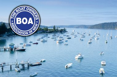Steber gets behind boat owners group