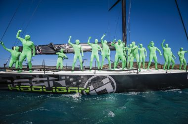 Mad aliens and wipe-outs at windy Hamilton Island Race Week