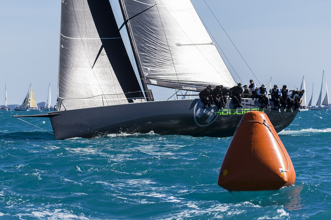 Hooligan won the final race to take IRC Passage (photo Andrea Francolini)