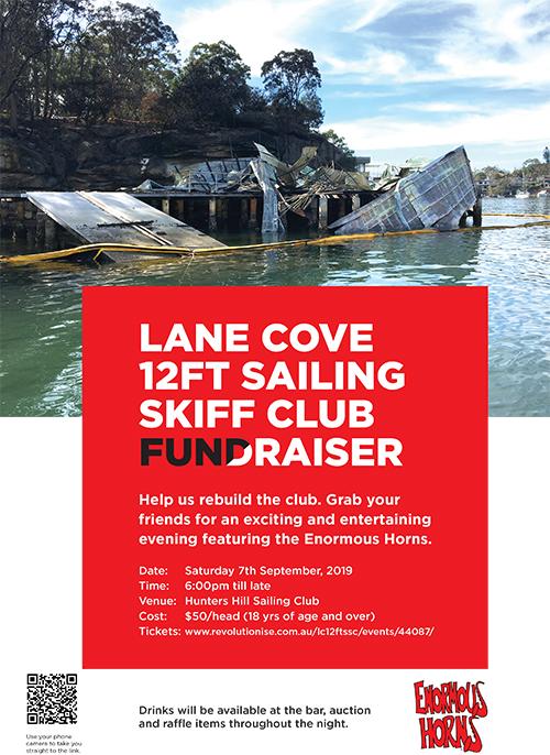 Lane Cove 12ft Sailing Skiff Club Fundraiser