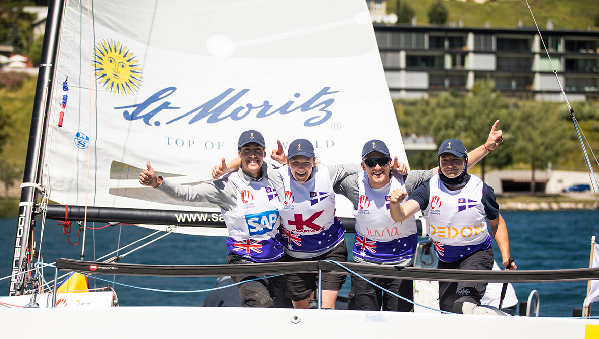 Royal Sydney Yacht Squadron named best club in the world at SAILING Champions League 2019