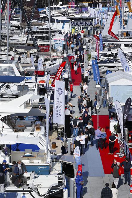 Sydney International Boat Show 2019 Marina
