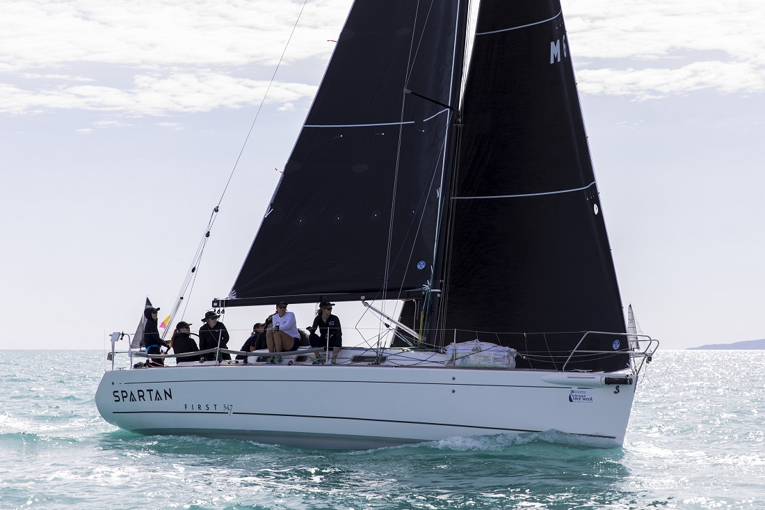 Tanya Kelly's Spartan won Cruising Division 2 (photo Andrea Francolini)
