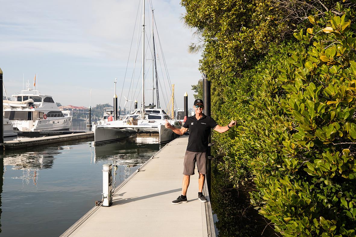 Tony Longhurst at The Boat Works