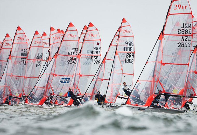 Top ten world championship finish for Aussie 29er sailors in Poland