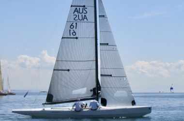 Alpha Crucis AUS61 Modern International 5.5 Metre for January Pittwater World Championships