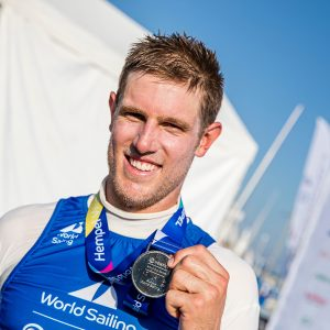 Matt Wearn retained Silver at the Hempel World Cup Series in Enoshima