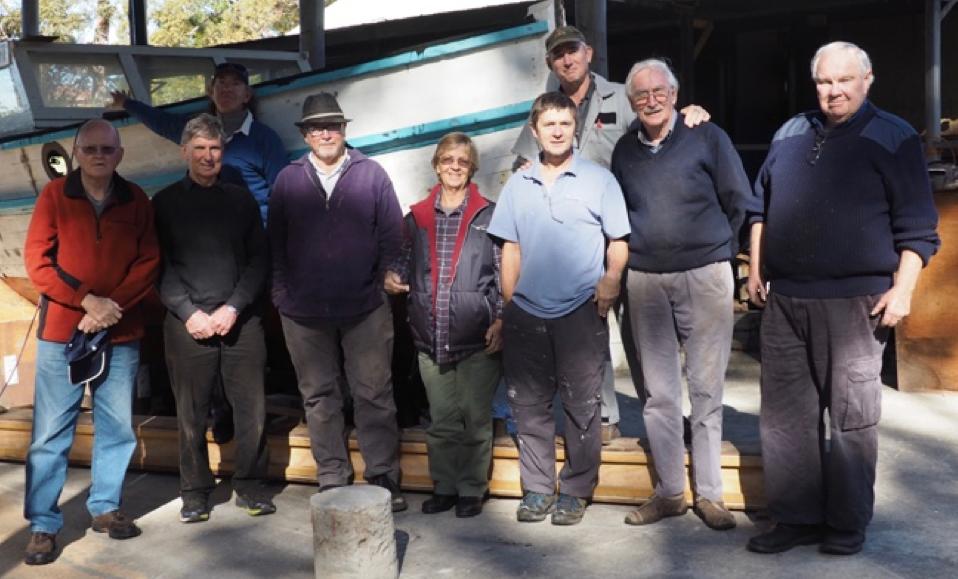 Crest Restoration - Crestorators volunteer group, May 2016