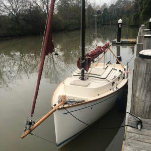 Cygnet 20 at wharf