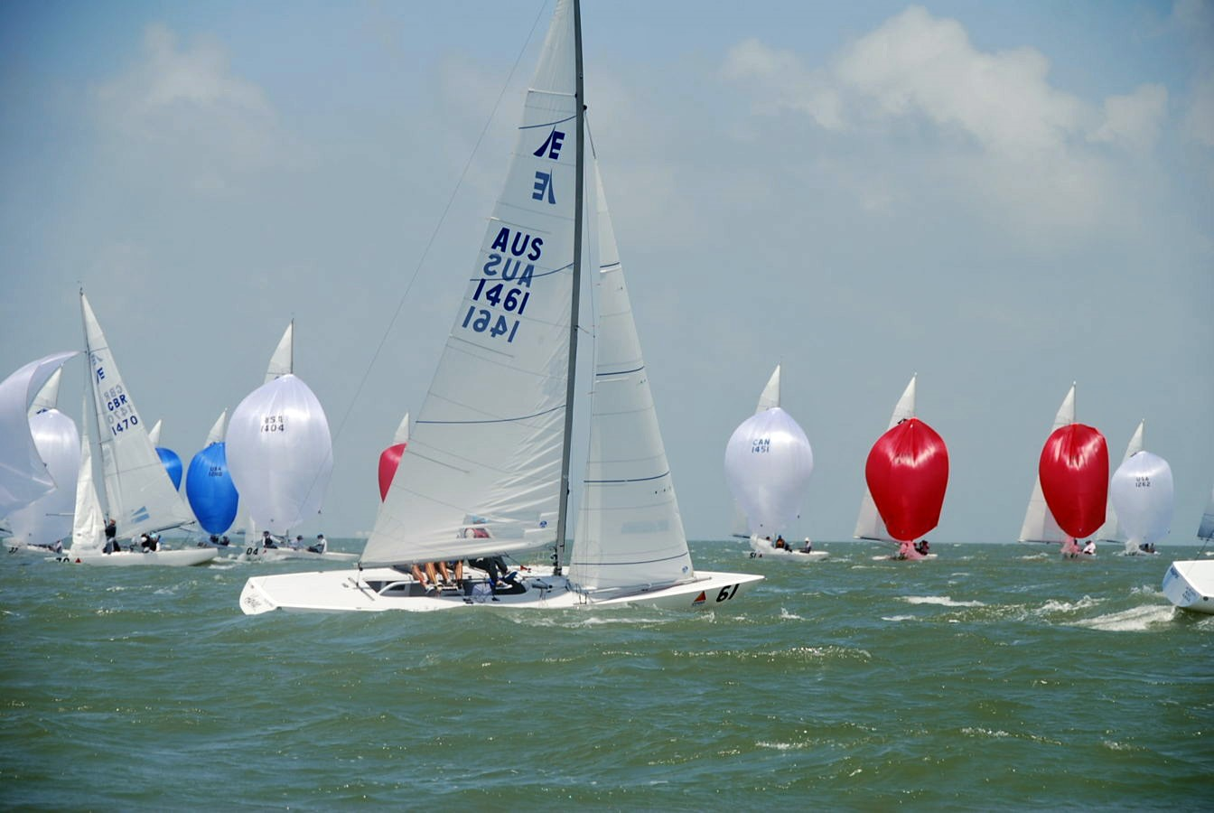 Etchells World Champions Havoc (sail no. 1461)