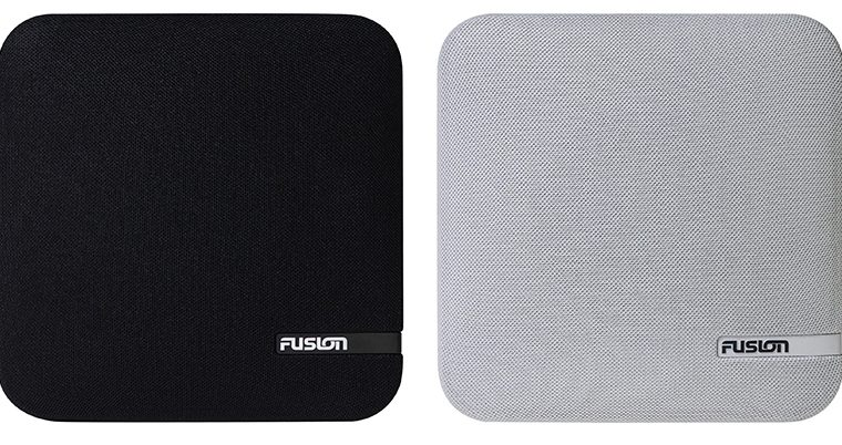 FUSION® offers shallow mount speakers for easy and versatile installation