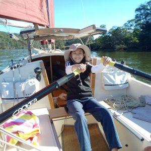 Cygnet 20 Raid Jessie Rose rowing
