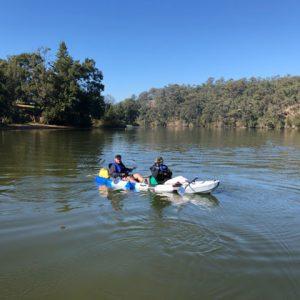Cygnet 20 Raid kayak crew