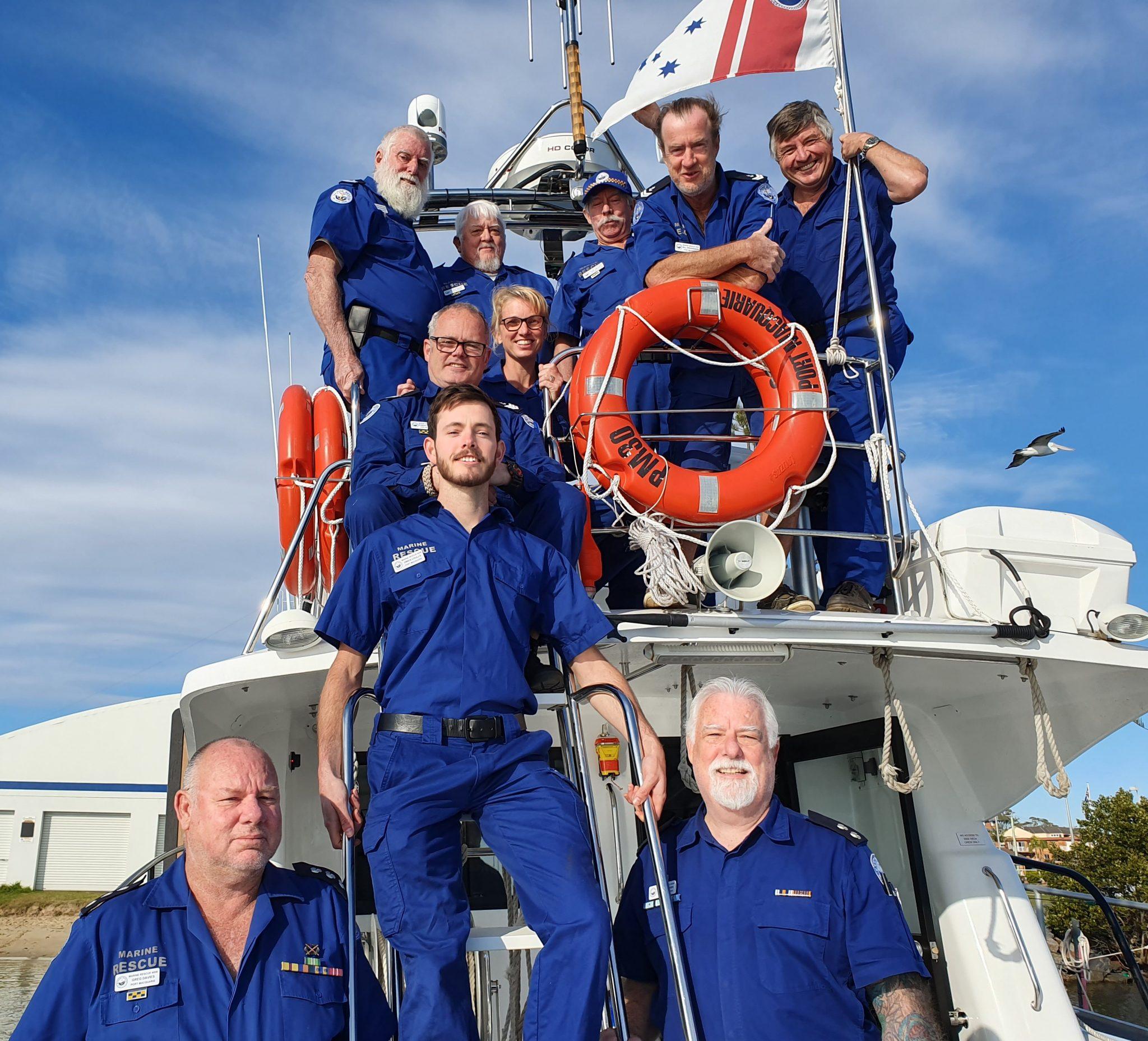 Marine Rescue Port Macquarie 30 Crew