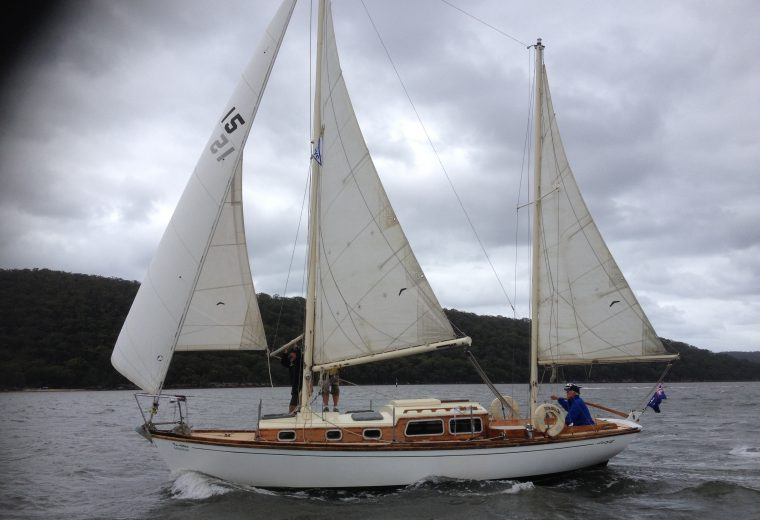 The most beautiful boat on the Hawkesbury