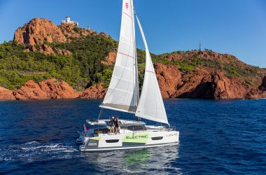 Volvo Penta and Fountaine-Pajot reveal electric sailing catamaran
