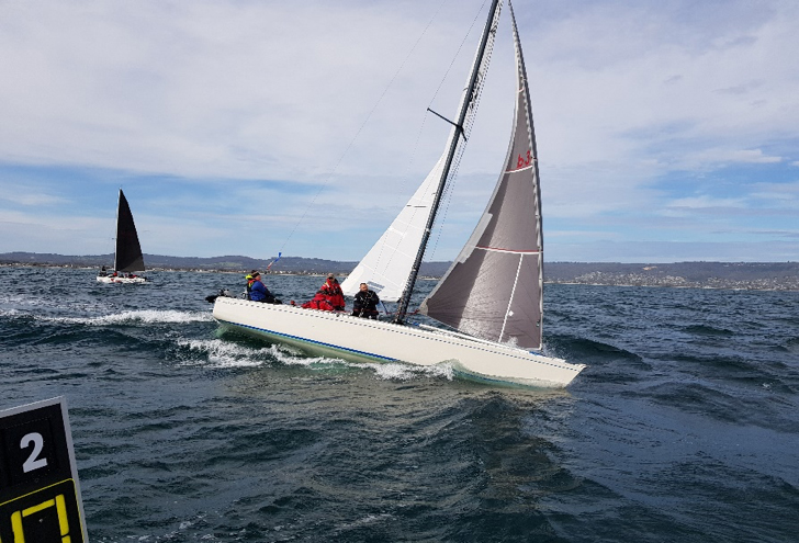 Waitangi Cup Checking out the start line