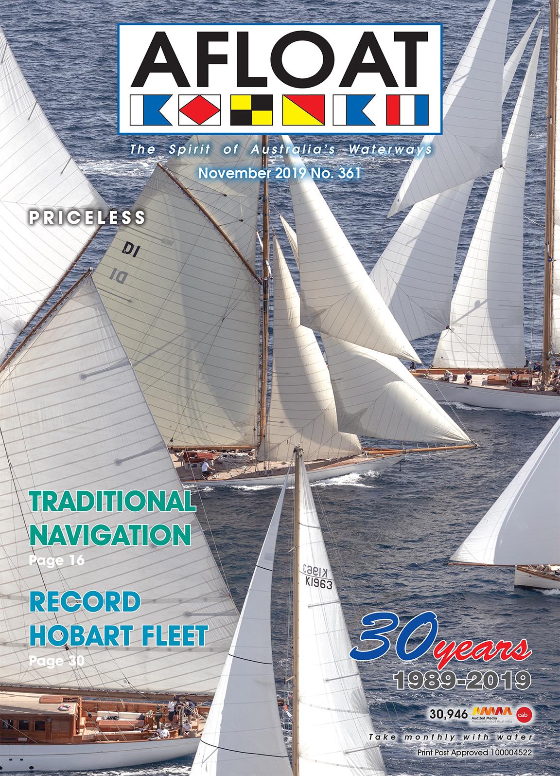 AFLOAT Cover November 2019