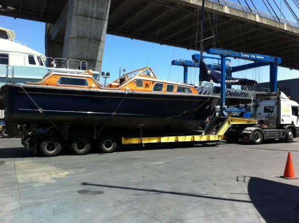 Admiral's Barge at Sydney City Marine 2019
