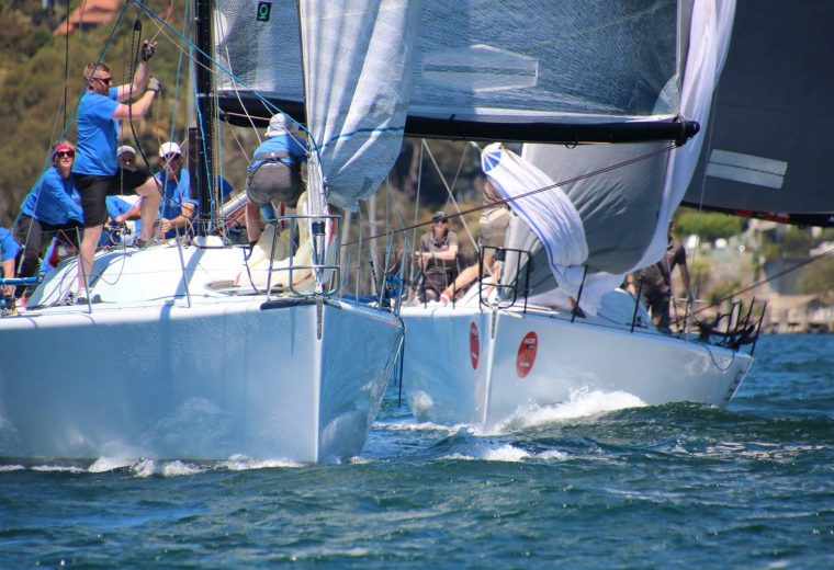 Farr 40s: Double Black wins first pointscore regatta of season