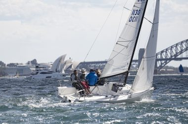 Tough conditions for the J/70 Australian Championships regatta