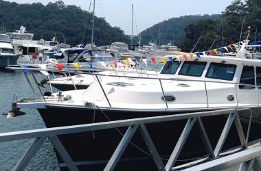 Mike Gaffikin brings 50 Years in Sydney's Marine Industry to Empire Marina Bobbin Head and celebrates with a Boutique Boat Show