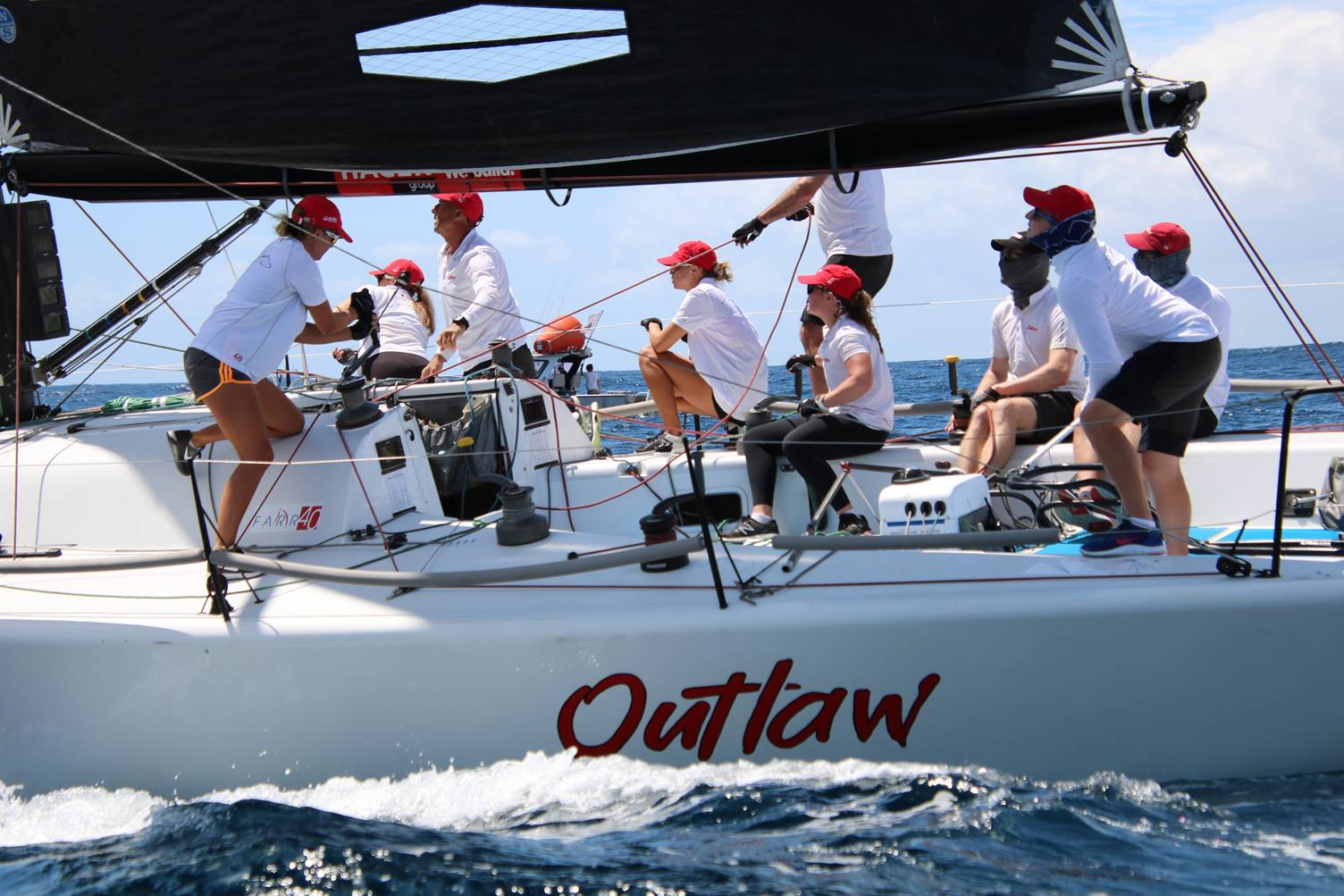 Farr 40s Outlaw – 2nd place