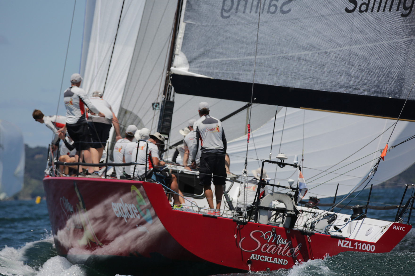 New Caledonia Groupama Race Miss Scarlet. Photo Will Caver Ocean Photography