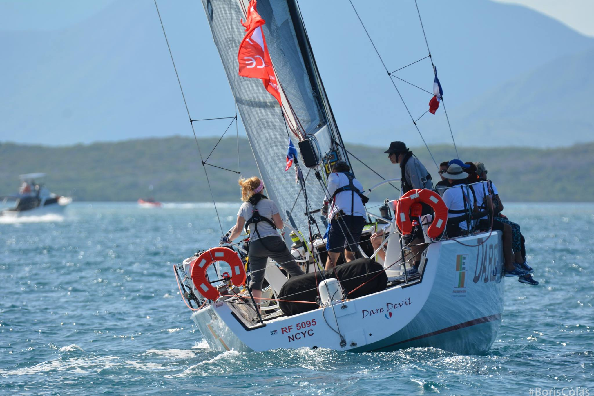 New Caledonia Groupama Race Sibby Ilzhofer's Dare Devil (AUS) Groupama 2018. Photo Boris Colas
