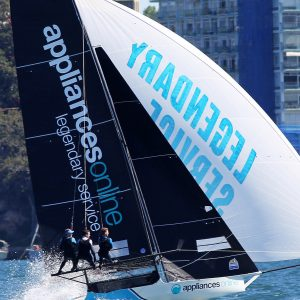 Spring Championship leader, appliancesonline.com.au in action on Sydney Harbour