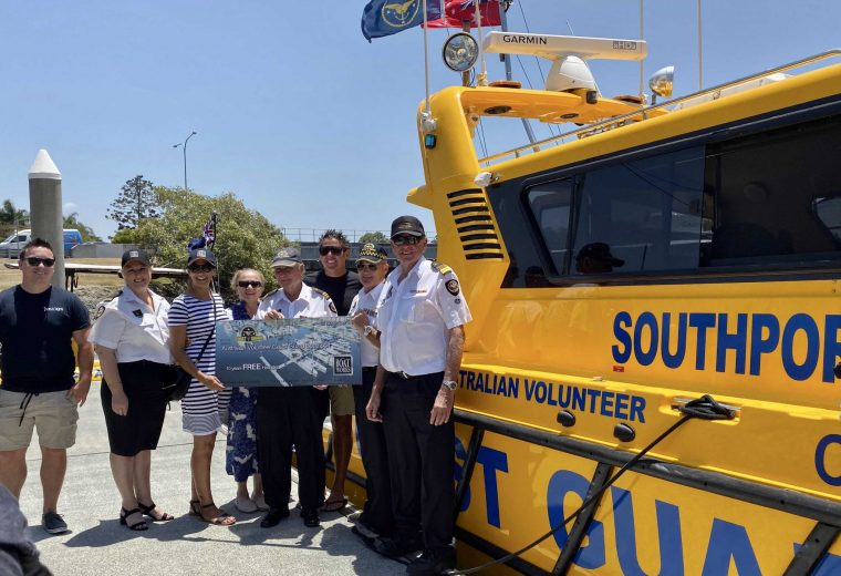 Boat Works commits to 10 years free haul out to the GC Volunteer Coast Guard