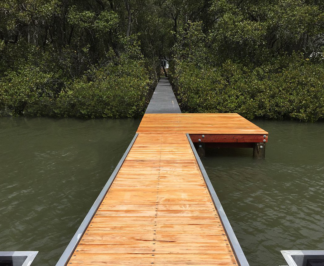 All Waterfront Constructions save the mangroves