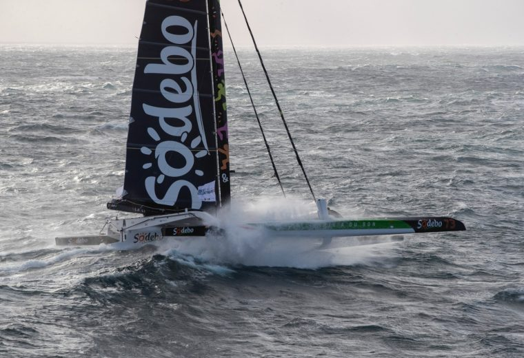 Brest Atlantiques: Sodebo Ultim 3 abandon the race