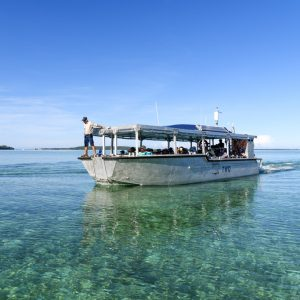 Coral Expeditions Xplorer tender