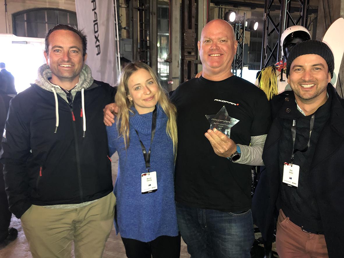 Eyachts award winning team in Finland