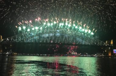 Marine Rescue volunteers in centre of New Year's Eve celebrations