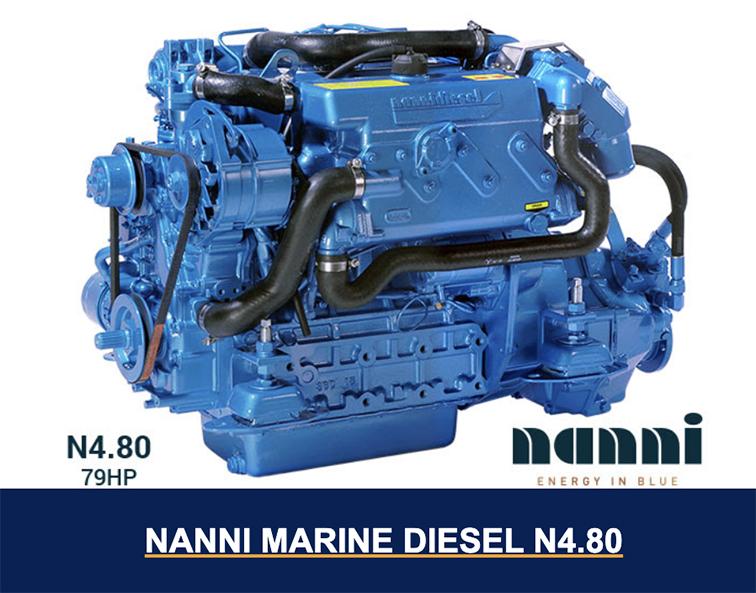 Nanni N4.80 diesel