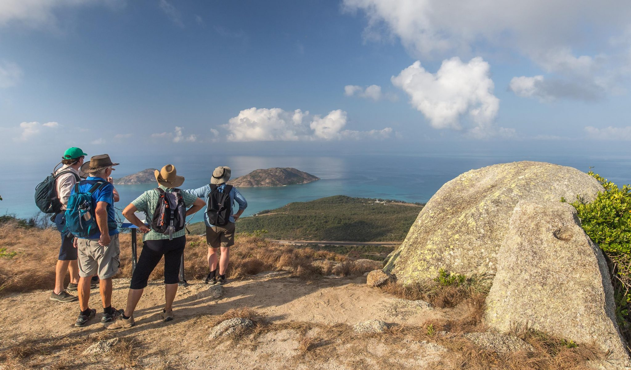 Coral Expeditions Nature walks at Cooktown and to the summit of Lizard Island