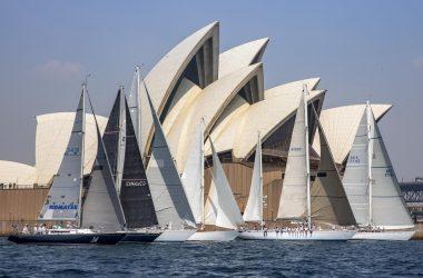 Sparkman & Stephens pre-Hobart sail past – 60 years of design achievement