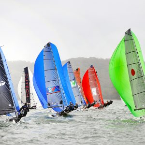 16ft skiff nationals Race 2 reach