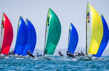 World Championship sailors support bushfire effort