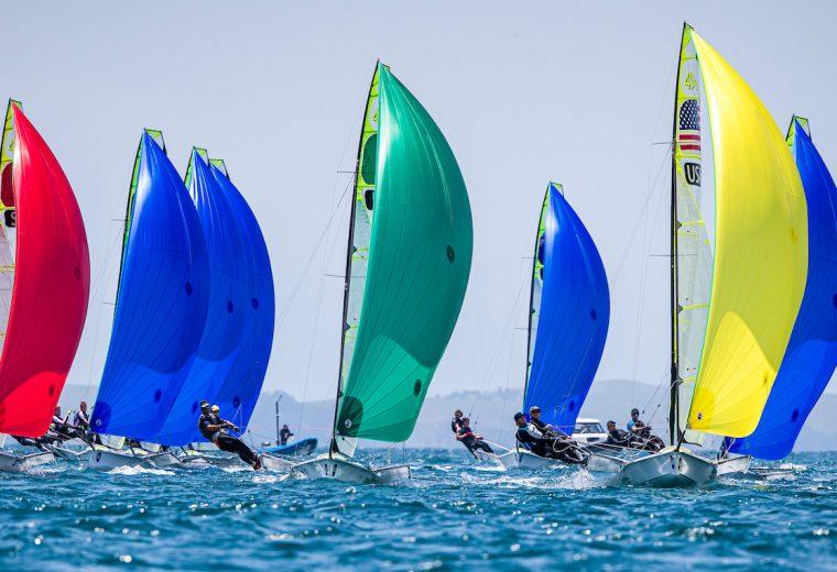 World Championship sailors support bushfire effort